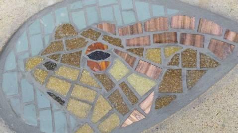 Toad mosaic