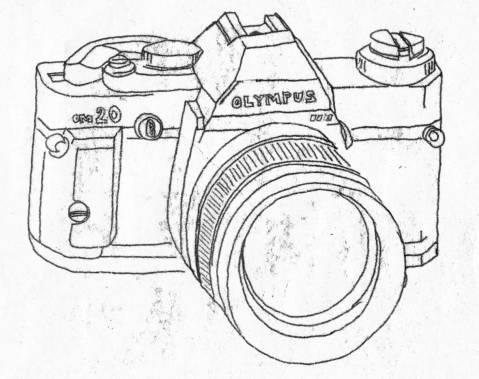Camera Olympus OM20 Monoprint