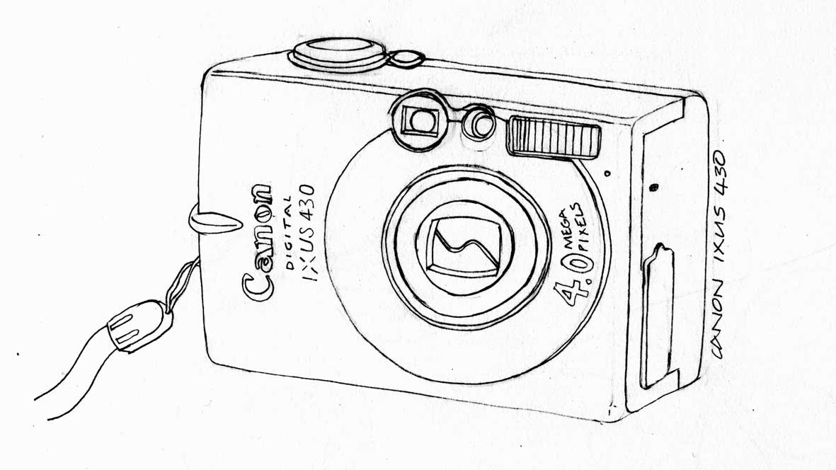 Line Drawing Camera : Line drawing being a freelance artist