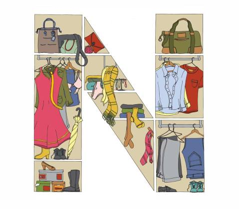 Illustration wardrobe completed Hyde Indoor Market