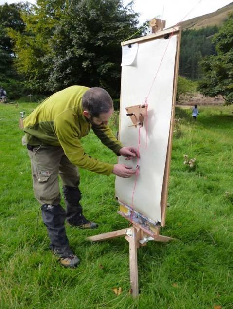 RSPB-Richard-Dawson-setting-up-a-tree-drawing-machine