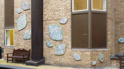 RBH mosaics - main wall