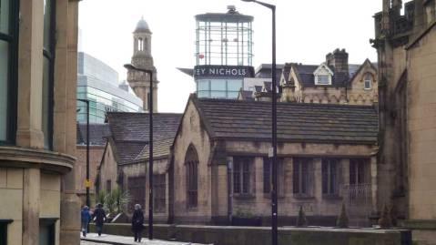 Urban sketch - Manchester Fennel Street