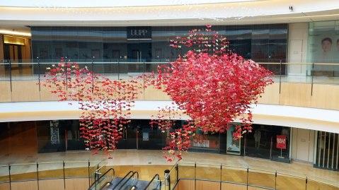Origami Fish Indigo Beijing 2