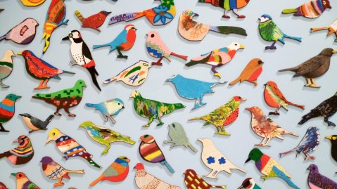 Art Bird Flock