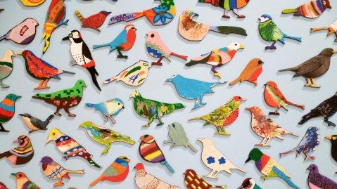 Art Bird Flock