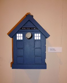 Brandon's Tardis Bird Box